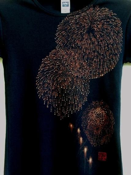 手描き 花火Tシャツ 2013 (15)