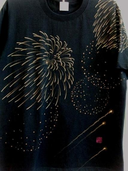 手描き 花火Tシャツ 2013 (20)