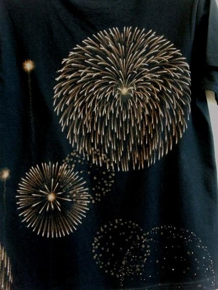 手描き 花火Tシャツ 2013 (21)