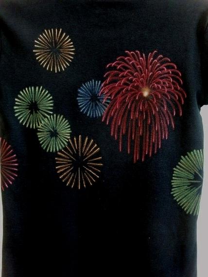 手描き 花火Tシャツ 2013 (37)