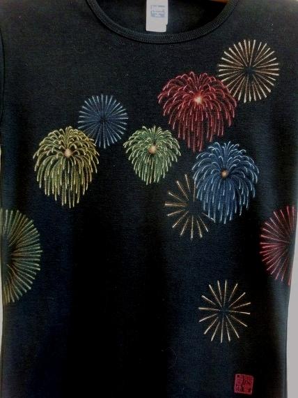 手描き 花火Tシャツ 2013 (38)
