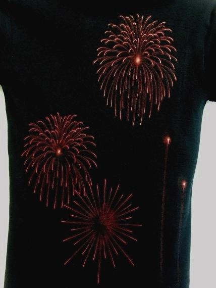 手描き 花火Tシャツ 2013 (42)