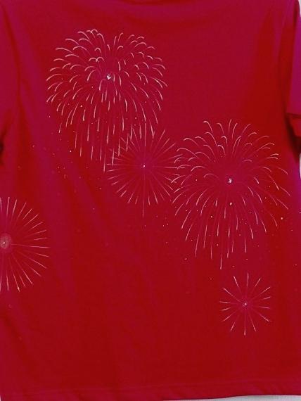 手描き 花火Tシャツ 2013 (50)