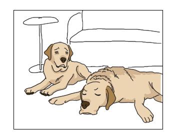 羊の国のラブラドール絵日記シニア!!「心配のタネとネタ」2