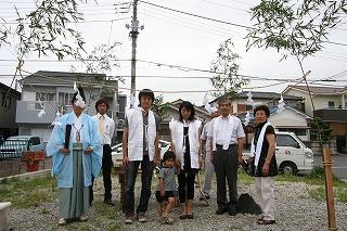 S様地鎮祭