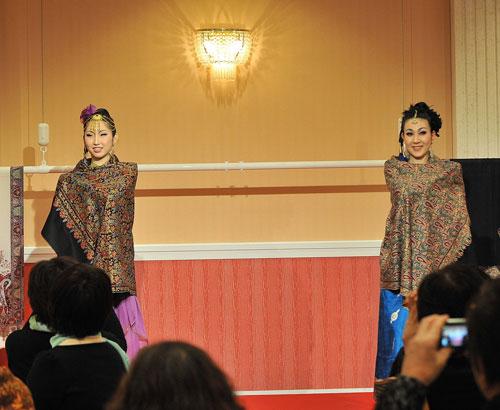 パシュミナ刺繍ショール2