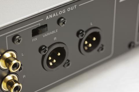 lusman DA200 高解像度 写真 電源ケーブル端子 XLR