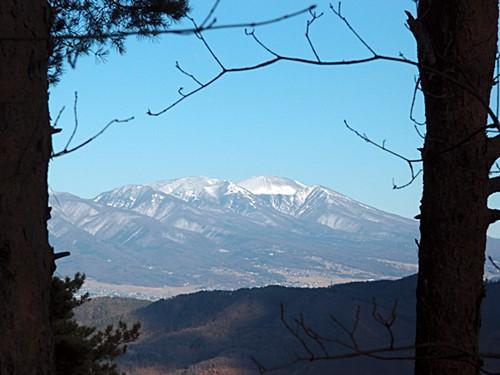 新春の浅間山