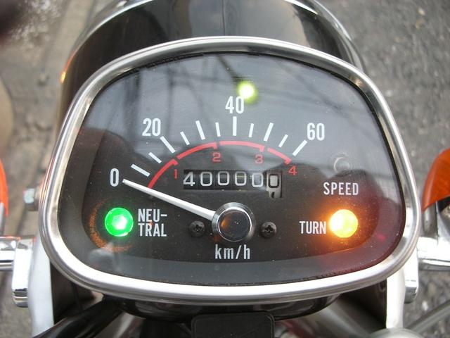 祝!ベンリィ 走行距離4万キロ達成!