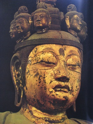 聖林寺十一面観音像頭部