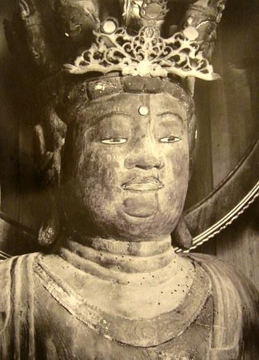 蓮華寺十一面観音坐像上半身・図録掲載写真
