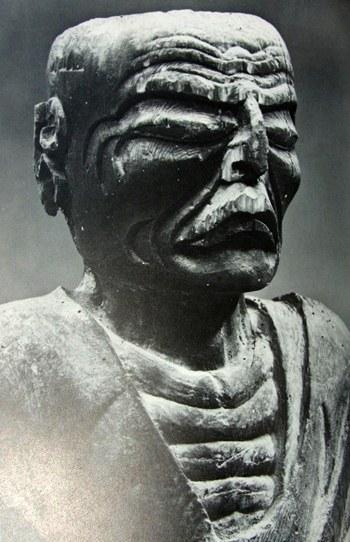 京都・安楽寺僧形坐像