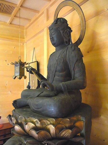 三重県多気郡・普賢寺 普賢菩薩坐像
