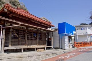 江島道:極楽寺前の導地蔵堂