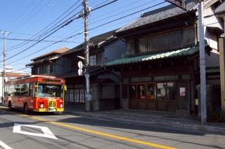 江島道:長谷の古い商店建築