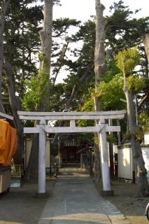 旧東海道:網一色八幡神社