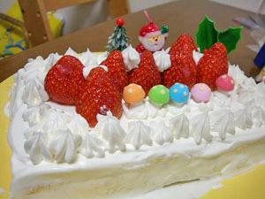 クリスマスケーキ☆2005