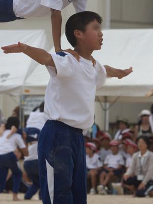 小学校最後の運動会。