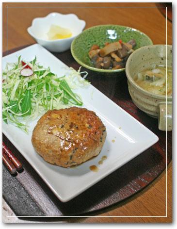 豆腐ひじきバーグ