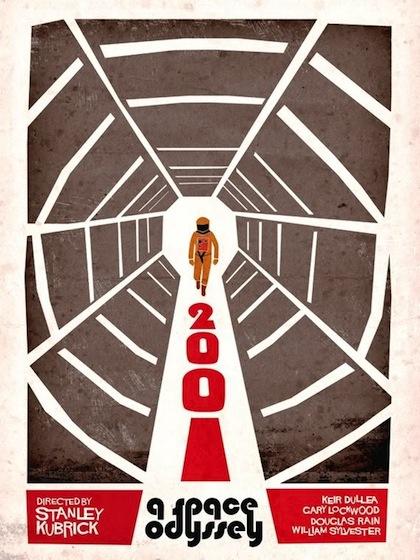 2001 A Space Odyssey by Adam Maida