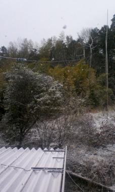 吹雪く31日