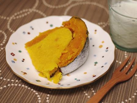 ジャックオーランタンのまるごとかぼちゃケーキb