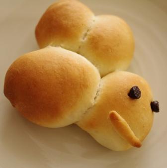 はちみつパン1