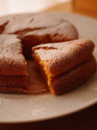 ニンジン野菜のケーキ01