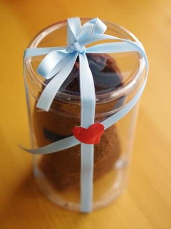 バレンタインに☆簡単ショコラのマドレーヌ00