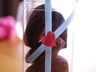 バレンタインに☆簡単ショコラのマドレーヌ02