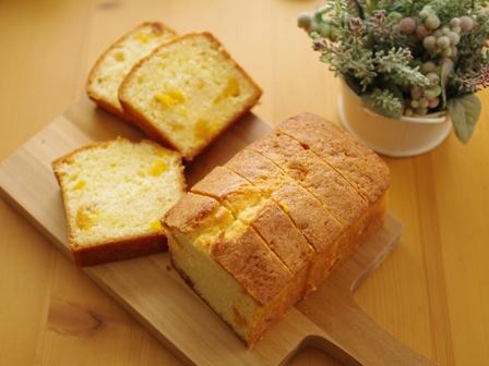 ドライマンゴーのパウンドケーキ02