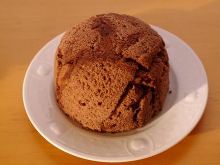ガナッシュチョコレートでつくるオトナのとろけるドームケーキ11