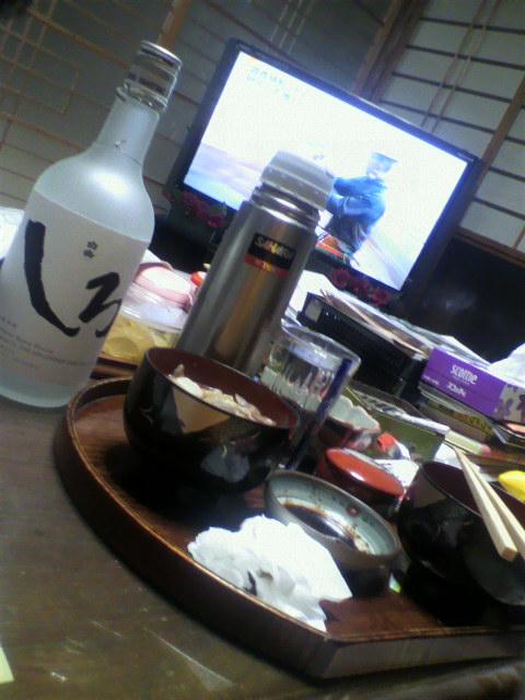 久しぶりに松橋の自宅で一杯(^^)