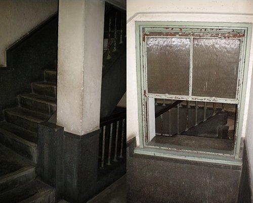 奥野ビル・階段