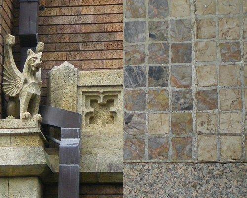 旧前田侯爵邸・外部装飾