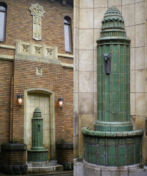 旧前田侯爵邸・壁泉