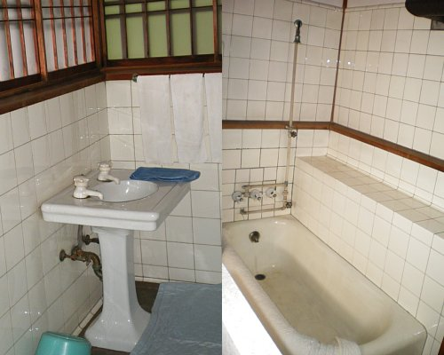 旧前田侯爵邸和館・浴室