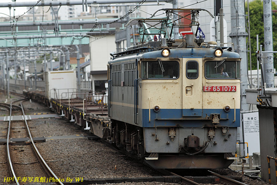 5593列車EF651072
