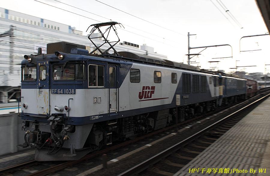 89列車64重連