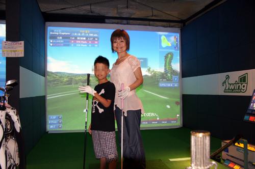 シュミレーションゴルフ1