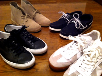靴・靴・靴・靴~