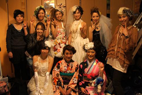 1.21 RHYTHM WeddingShow オールキャスト〈女子)