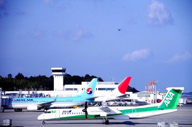 大分空港より空へ