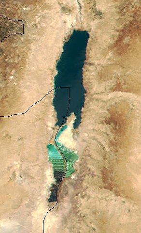 死海が消滅の危機