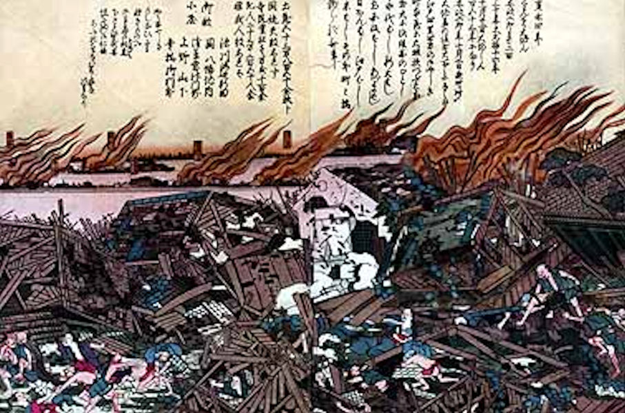 東京湾直下型地震で日本終了
