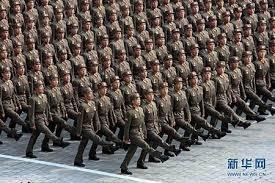 北朝鮮の若き兵士