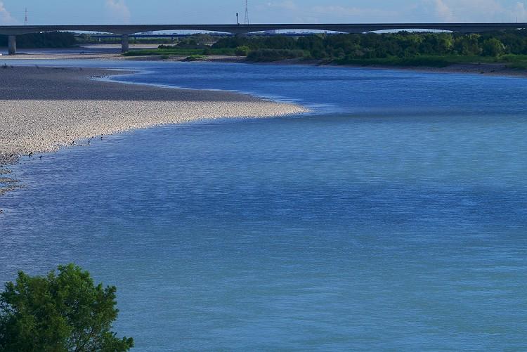 夏の天竜川