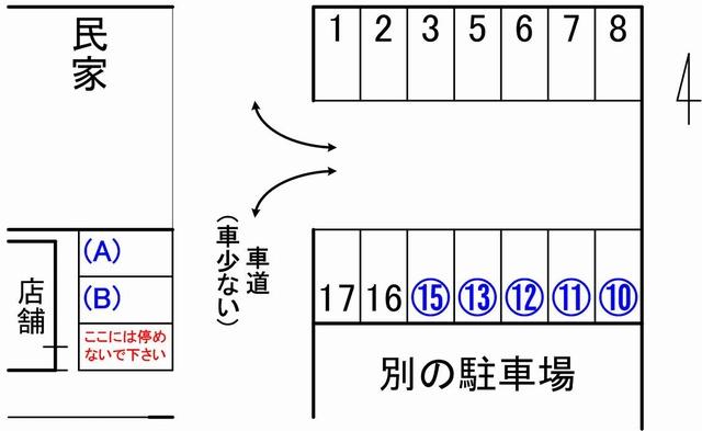 parlante駐車場見取り図02