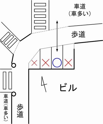 ペギー珈琲第1駐車場見取り図01