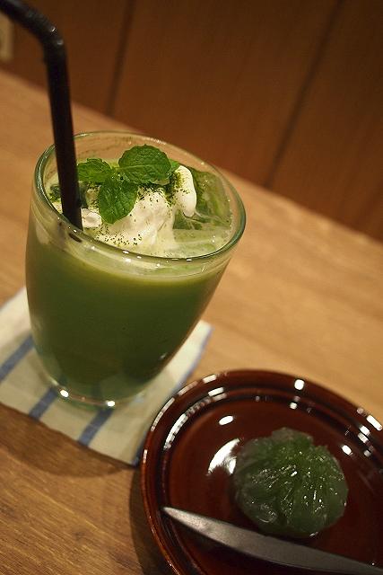 Cha-cafe深緑茶房001